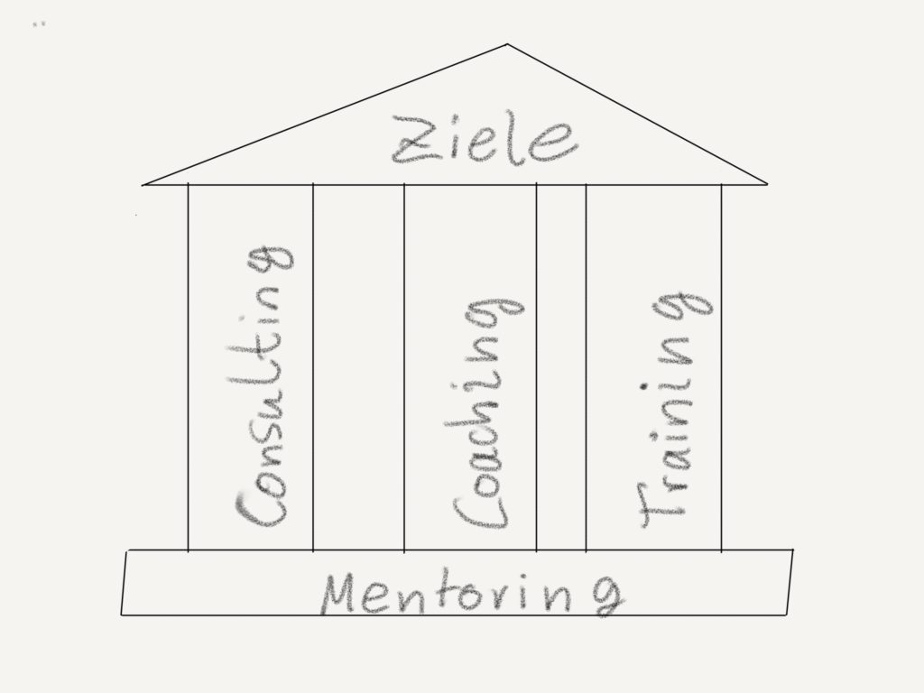 Coaching, Mentoring, Training oder Consulting?